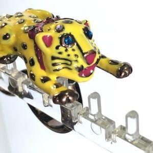 Betsey Johnson Ring / Cheetah